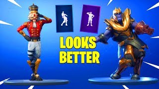 FORTNITE DANCES LOOK BETTER WITH THESE SKINS..!