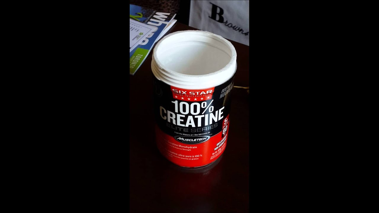 six star 100% creatine elite series review