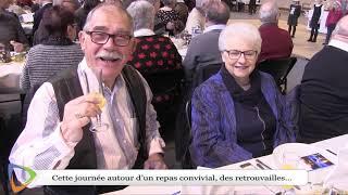 Le repas de Noël du CCAS d'Avallon (89)