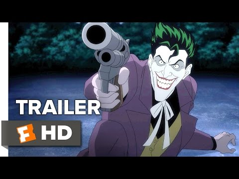 Batman: The Killing Joke Official Trailer 1 (2016) – Mark Hamill Movie