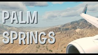 FSX Orbx Palm Springs Landing (Awesome Graphics!!)