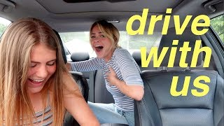 DRIVE WITH ME (ft. my sis Brie) | Summer Mckeen