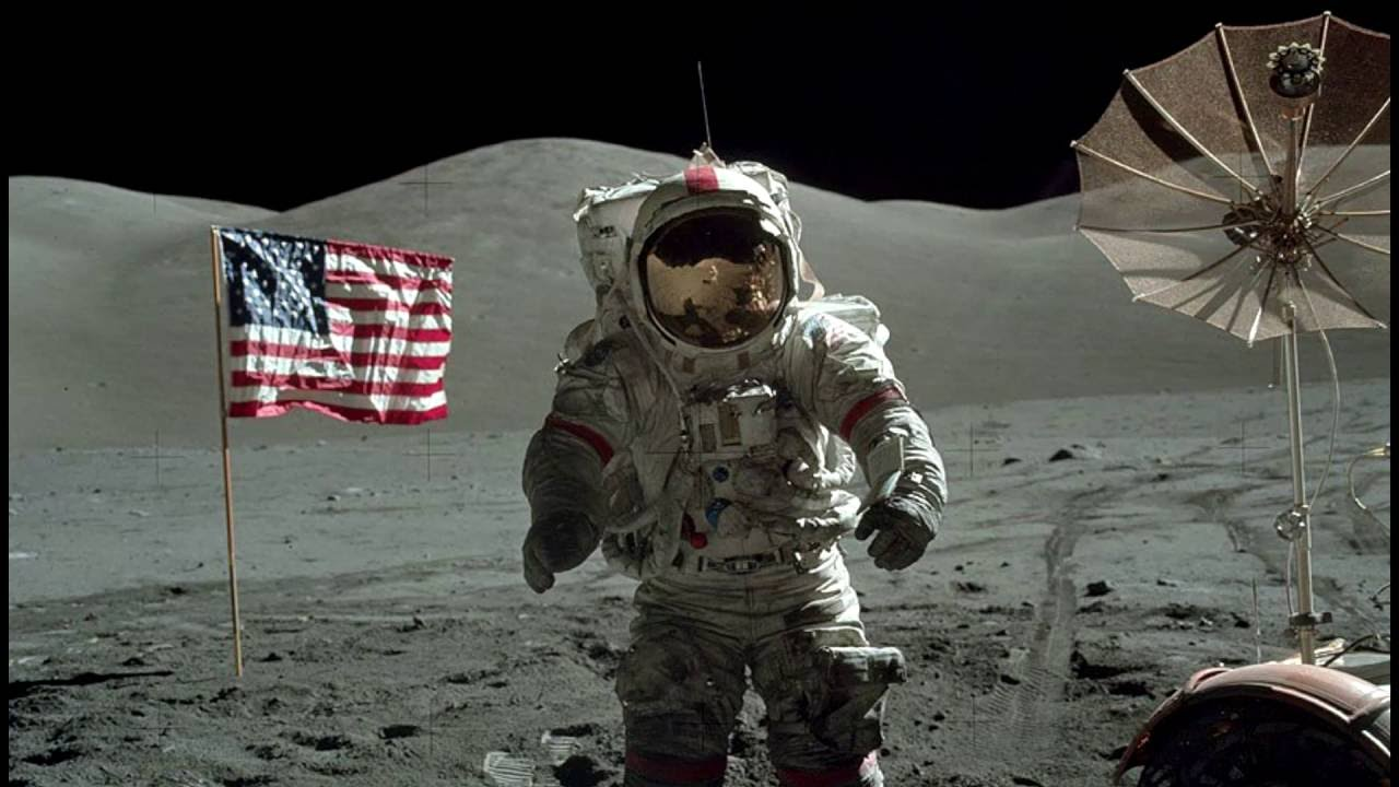 Shocking Nasa Moon Landing picture HD - YouTube