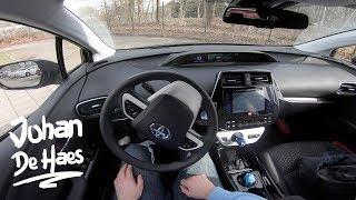 2019 Toyota Prius Hybrid 122 hp POV test drive