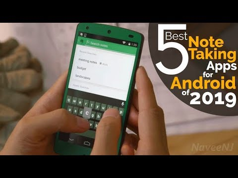 5 Best Note Taking Apps For Android Of 2019