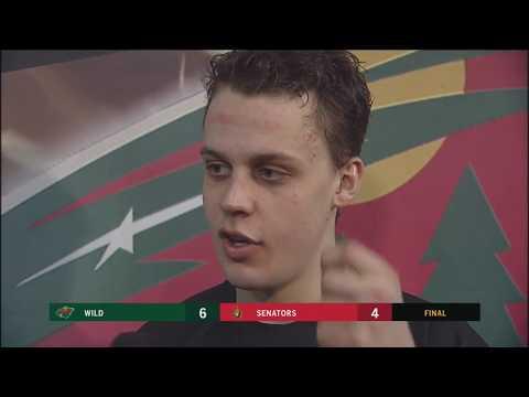 Wild's Joel Eriksson Ek: 'We never stopped believing'