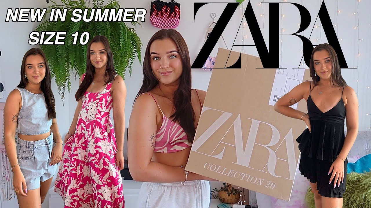 NEW IN ZARA TRY ON HAUL / SUMMER OUTFITS