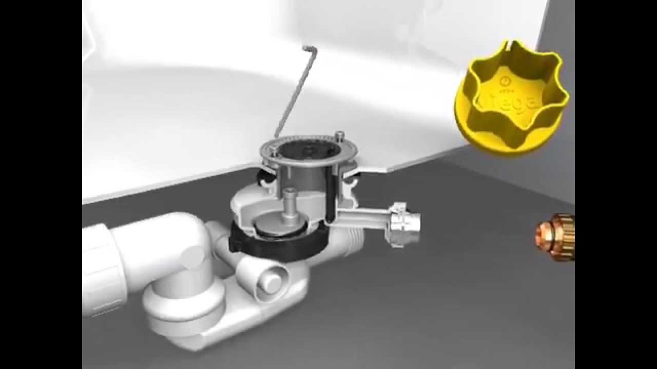 Современный сифон для ванны Viega Multiplex Trio F - YouTube