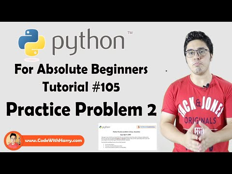 Practice Problem 2 (Easy) |  Python Tutorials For Absolute Beginners In Hindi #105 thumbnail