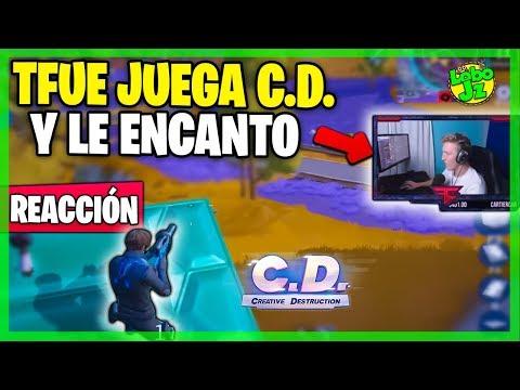 Reacción a TFUE JUGANDO CREATIVE DESTRUCTION | LE GUSTÓ!! | Copia de Fortnite | Lobo Jz