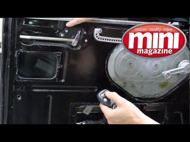 Central locking installation - YouTube