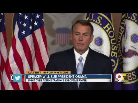 Boehner to sue President Obama