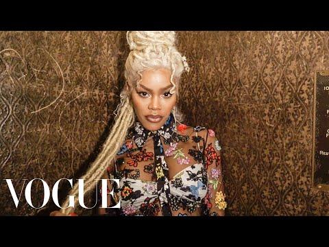 Teyana Taylor's Epic Versace Getting-Ready Ritual | Vogue