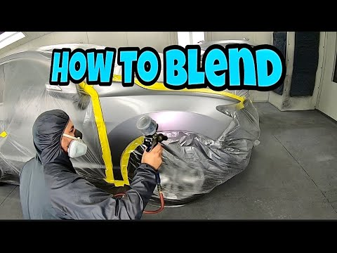 Car Painting: How to Blend Paint in SMALL Areas!