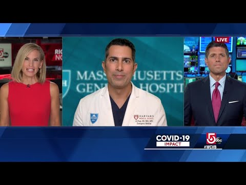 Mass doctor: Increasing COVID cases fail to fill local hospitals with patients – WCVB Channel 5 Boston