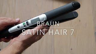 Braun Satin Hair 7 ST710 Iontec Straightener