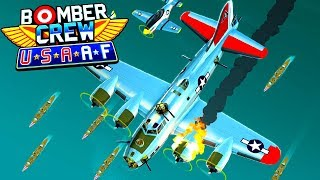 NEW B-17 Flying FORTRESS USA Plane Mission! (Bomber Crew USAAF DLC Gameplay)