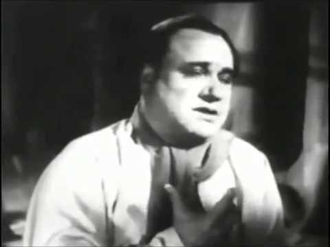 Beniamino Gigli - Leoncavallo - Vesti la giubba (I Pagliacci, 1943)