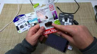 Samsung Galaxy Note 5 USB OTG On the Go Memory Card adapters & thumb drives