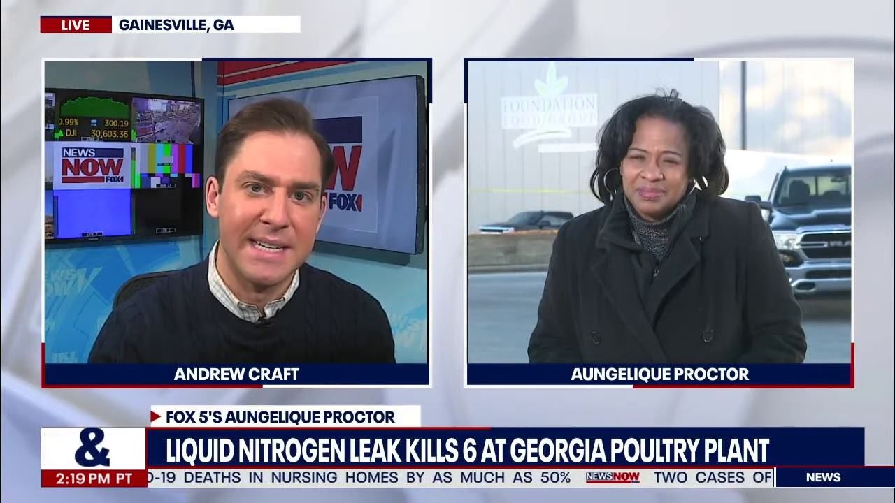 Update With Latest On Nitrogen Leak That Killed 6 People In Georgia | NewsNOW from FOX