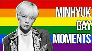 Minhyuk gay moments (minhyUKE)