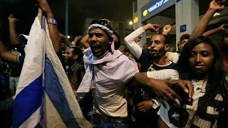 הפגנת האתיופים - המחאה והמהומה (2015)