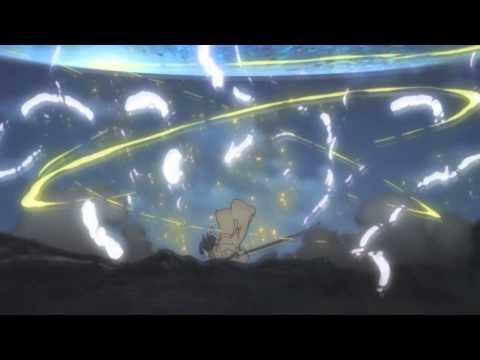 【HD】 Kyoukai no Kanata - Izumi Nase vs Youmu and Miroku.