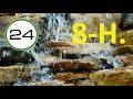 SONIDO de AGUA para DORMIR 8 HORAS 💧💧 Agua Relajante Cayendo Corriendo y Fluyendo Suave SIN Música