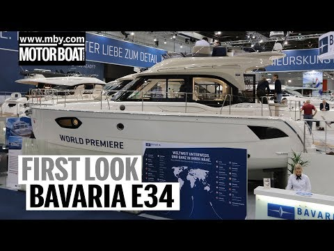Bavaria E34 | First Look | Motor Boat & Yachting