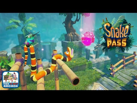 Snake Pass - Risk It All On The Risky Reservoir (Xbox One Gameplay)