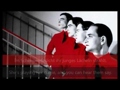 Kraftwerk - Das Model (English and German lyrics video)