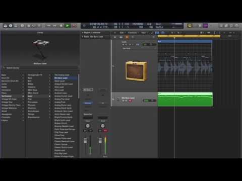 Converting Audio to Midi in Logic Pro X