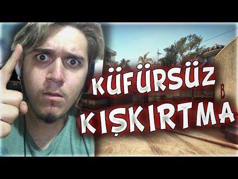 KÜFÜRSÜZ VS'DE MERTCAN BAHAR'A KIŞKIRTMA EFSANE !!! (CS:GO)