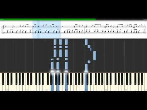 David Bowie - Space oddity [Piano Tutorial] Synthesia