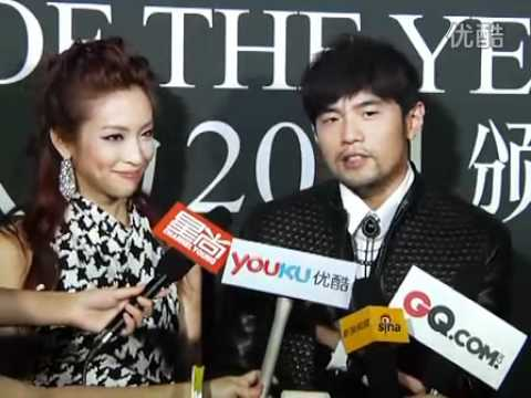 Interview with Jay Chou at GQ's Men of the Year ceremony (2/9/2011)