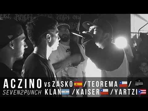 ACZINO vs ZASKO/TEOREMA/KLAN/BLON/KAISER/YARTZI 2017 (HD)