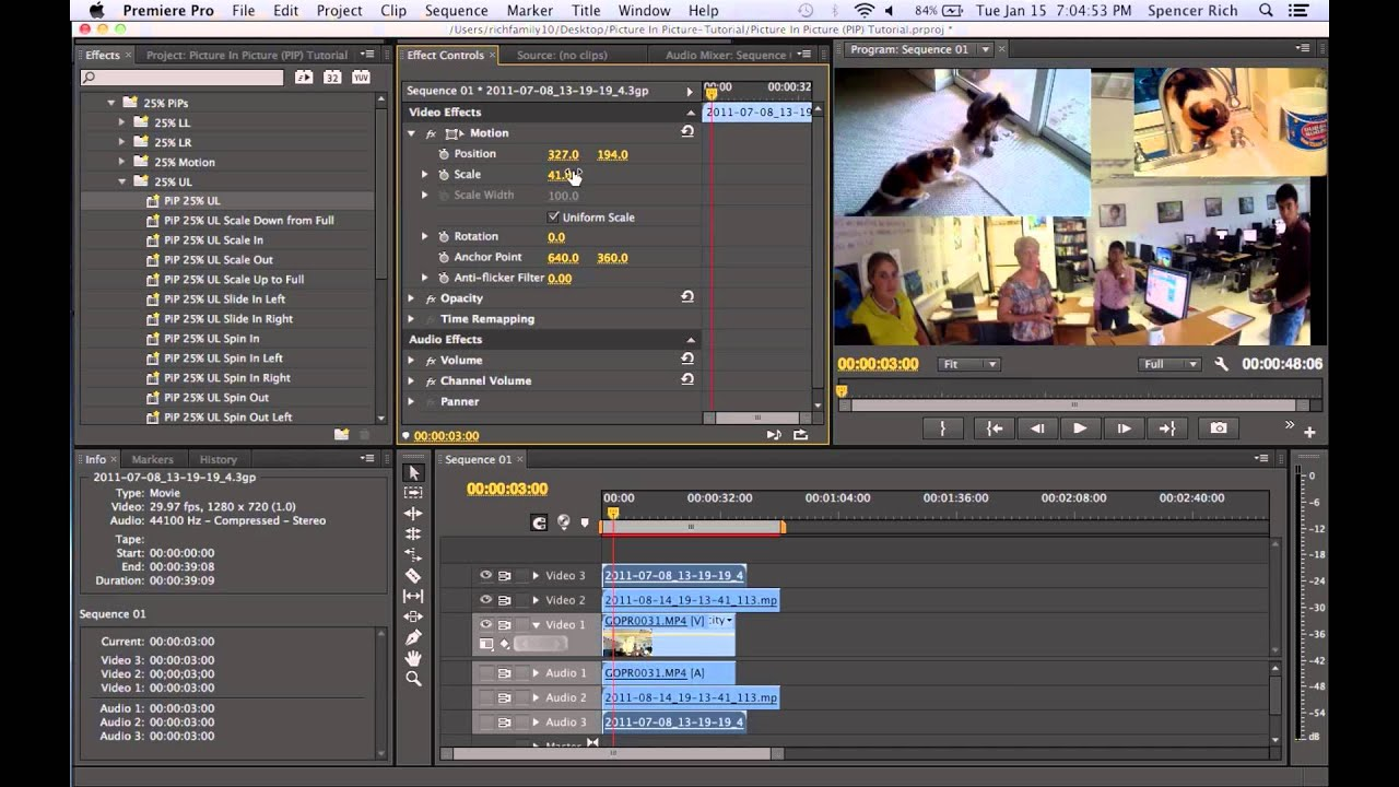 how to add pictures to premiere pro