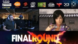 DOA5LR FR 18 Grand Final MC Static (Kokoro) vs SweetRevenge (Gen Fu)