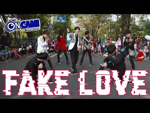 [KPOP IN PUBLIC CHALLENGE] BTS (방탄소년단) 'FAKE LOVE' By 7P From INDONESIA