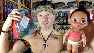 Disney Animators Collection Moana Mini Doll Play Set 5 Unboxing Review Youtube
