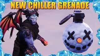 SPECIAL #GIVEAWAY | Fortnite India | New Chiller Grenade | Garage Gamer #Livestream