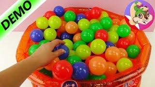 Basen z kulkami zrobiony z basenu dla dzieci | unboxing i test