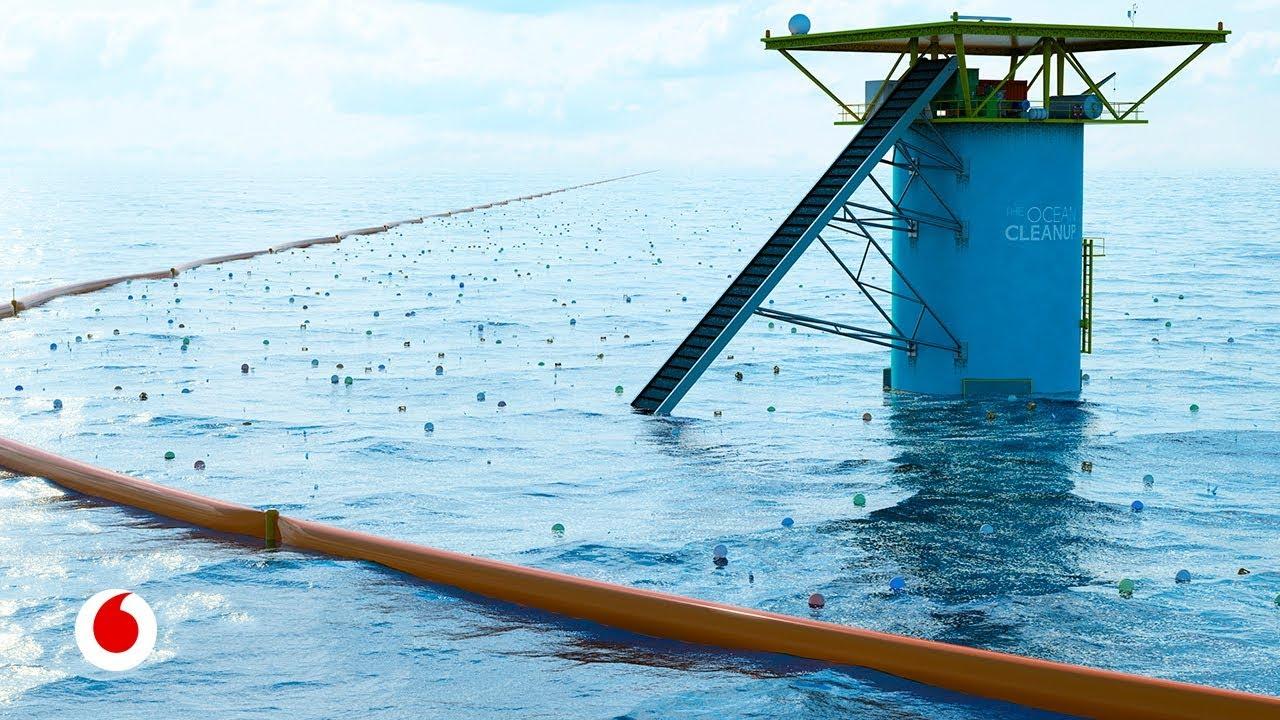El joven inventor que sueña con limpiar los océanos