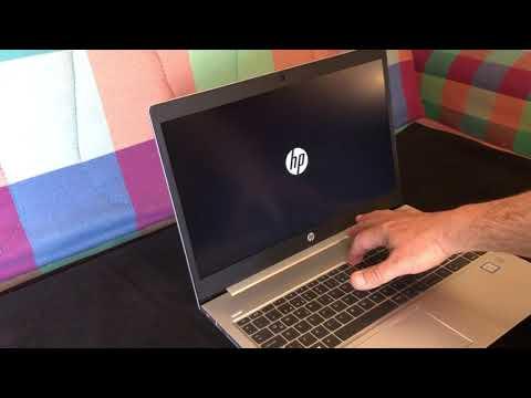HP Probook 450 - How To Enter Bios Setup Menu