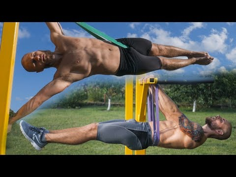 How to Learn BEST Calisthenics SKILLS with Resistance Bands