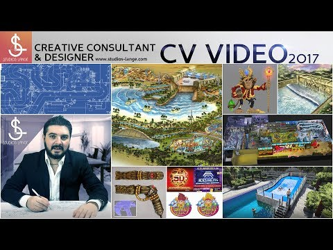 Joël Lange CV VIDEO - Creative Consultant &  Designer