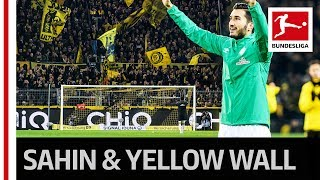 Nuri Sahin Farewell - Dortmund Fans Honour Former BVB Player