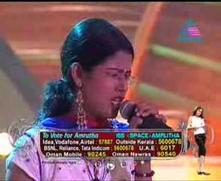 Asianet Idea Star Singer Amrutha