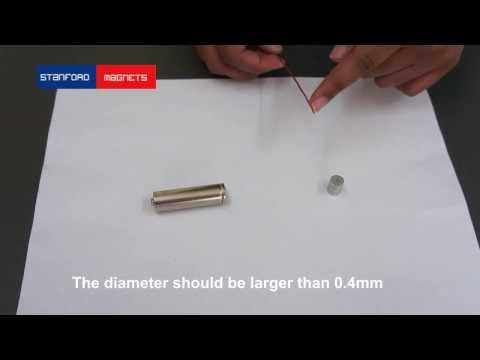 How to Create a Homopolar Motor_Stand Mags