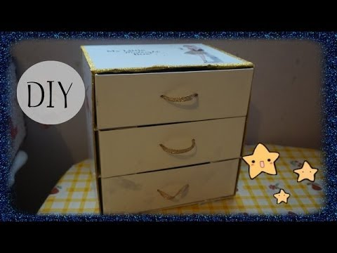 diy 12 faire une commode avec ces boites my little box youtube. Black Bedroom Furniture Sets. Home Design Ideas